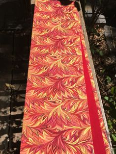 A personal favorite from my Etsy shop https://www.etsy.com/listing/479918987/red-fire-colors-reversible-pentecost