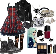 """Polyvore ~ Punk girl"" by amp1202 ❤ liked on Polyvore"