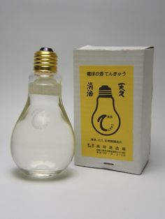 "Would like to use this packaging for Have an ""A-ha!"" Moment - Juice Drink - Get your creative juices flowing.    Japanese Sake Bottle ""Tenkyu"" 