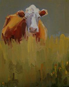 """in the thick of it"" - Original Fine Art for Sale - � Carol Carmichael"