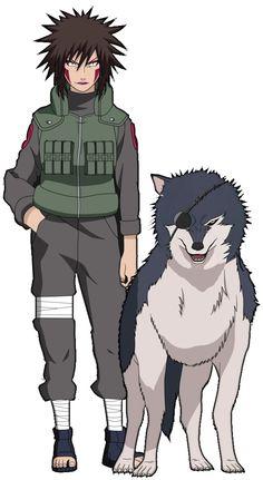 Tsume Inuzuka (犬塚ツメ, Inuzuka Tsume) is a tokubetsu jōnin-level kunoichi of Konohagakure, and a member of the Inuzuka clan. Her canine companion is Kuromaru. Naruto Uzumaki, Anime Naruto, Anime Echii, Naruto Girls, Shikamaru, Naruto Art, Gaara, Otaku Anime, Naruto Family