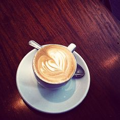 One more cup of coffee before I go. Thanks @thunderbirdaustin for a delicious macchiato! #coffee #atx #ilovecoffee