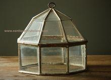 Antique 19th Century English Garden Lantern Cloche