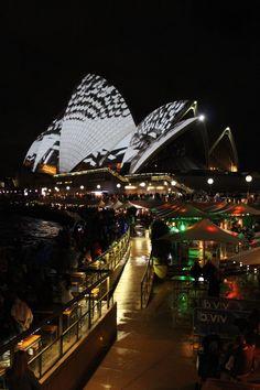 호주 시드니 2014 비비드 시드니(2014 Vivid Sydney, Australia) - 미디어 파사드(Media Fasade)