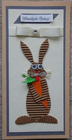 Kartka Wielkanocna ręcznie robiona