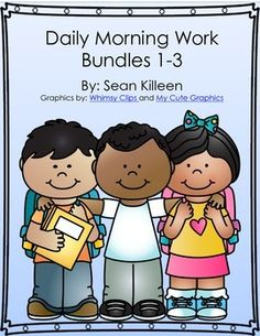$7.50 Bundles 1,2, & 3 all in one!!These common core aligned worksheets are designed to be used in grades 3-5. They include language arts, math, and geography questions. Worksheets include daily grammar and computation work. They also include opportunities for students to challenge their brains with word puzzles, higher level math reasoning, vocabulary skills and critical thinking.