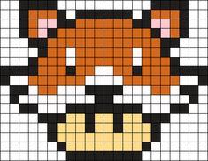 Kandi Patterns for Kandi Cuffs - Characters Pony Bead Patterns Fuse Bead Patterns, Kandi Patterns, Cross Patterns, Perler Patterns, Beading Patterns, Minecraft Pattern, Pixel Pattern, Minecraft Pixel Art, Pattern Art