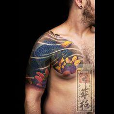 Japanese tattoo, The Great Shige @ YellowBlaze Strikes Again!   Japanese Tattoo Log