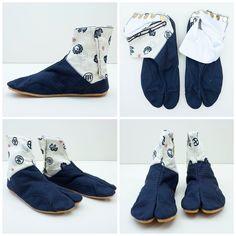 Kyoto Kamon Japonista Sole Jika Tabi Shoes - Japan Lover Me Store Tabi Shoes 85119bdb3