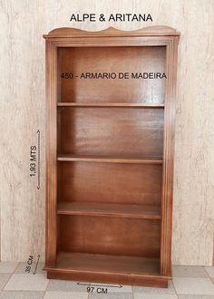 Lindo armário de madeira. Acesse nosso site: www.alpearitana.com.br ou fale conosco: marketing@alpearitana.com.br