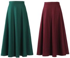 длинная черная шерстяная юбка - Поиск в Google