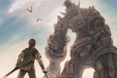 天蓋 shadow of the collosus Cave Story, Iron Man Wallpaper, Darkest Dungeon, The Masterpiece, Video Game Art, Cute Characters, Lion Sculpture, Fantasy, Statue
