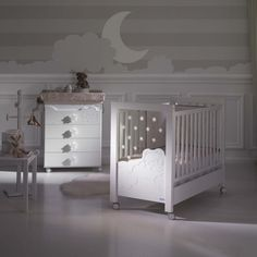 Micuna Dolce Luce Cot White with LED lights and Reclining Mattress Base Baby Bedroom, Baby Boy Rooms, Baby Room Decor, Living Room Tv, Kids Decor, Home Decor, House Beds, Nursery Furniture, Cribs