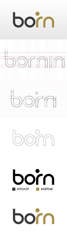 Logo Bornin on Behance By Boubacar A. Cisse