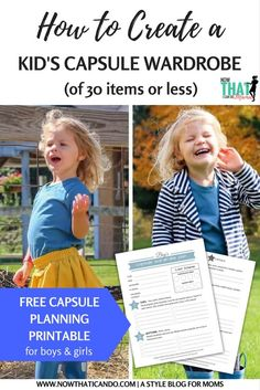 Several of you have asked about wardrobe capsules for your children. I knew  I had to introduce you to Kelly, kid capsule blogger over at  www.mykidscapsule.com.. I believe I first found her on Instagramand I  quickly became a fan of the concept of simplifying your kid's wardrobe with  intentio
