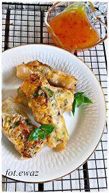 Ewa w kuchni: Sajgonki z kurczakiem Tandoori Chicken, Meat, Ethnic Recipes, Food, Essen, Meals, Yemek, Eten