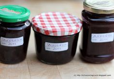 Schöner Tag noch! Food-Blog mit leckeren Rezepten für jeden Tag: Sauerkirschmarmelade, klassisch