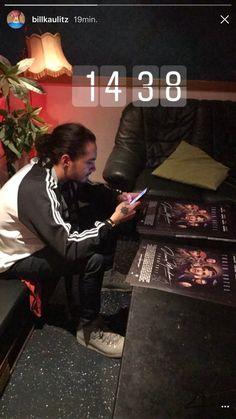 SOURCE: Bill Kaulitz Instagram Dream Machine World Tour 2017: LONDON | BRUSSELS | HAMBURG