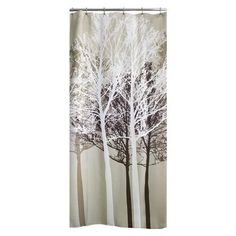 shower curtain Country Style Bathrooms, Chic Bathrooms, Amazing Bathrooms, Tree Shower Curtains, Bathroom Shower Curtains, Bedroom Curtains, Shower Doors, Chandelier Art, Or Mat