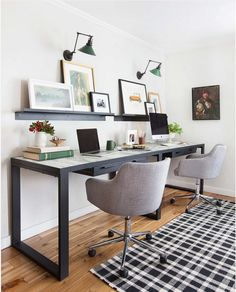 home office rug placement. Studio McGee Design Home Office Rug Placement