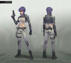 Ghost in the Shell :Stand Alone Complex. Major Motoko Kusanagi / 攻殻機動隊S.A.C 少佐 草薙素子 .jpg