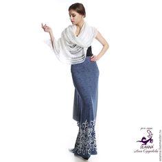 879a9a4a339 Купить Роскошная удобная трикотажная юбка эластичная