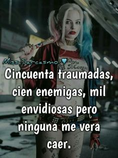 Funny Spanish Memes, Spanish Quotes, Funny Memes, Sad Love Quotes, Badass Quotes, Harley Queen, Quotes En Espanol, The Ugly Truth, Frases Tumblr