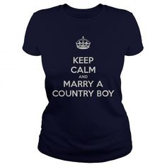 Awesome Tee MARRY A COUNTRY BOY Shirts & Tees