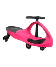Another great find on #zulily! Pink SwingCar Ride-On #zulilyfinds