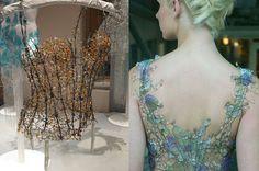 Glass corset
