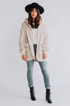 Teddy Sweater Coat