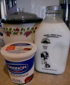 Countertop Yogurt Culture : ... about Yaourt on Pinterest Homemade yogurt, Yogurt and Crockpot