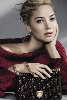 Continúa el romance entre Jennifer Lawrence y Dior