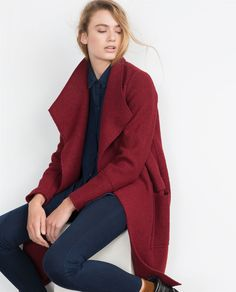 WOOL COAT-Outerwear-TRF   ZARA United States