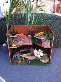 Fairy garden small world tyre for outdoor play in the early years