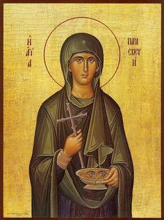 Orthodox icon of Saint Paraskeve (Friday) Holy Friday, St P, Happy Birthday Messages, Byzantine Icons, Orthodox Christianity, Orthodox Icons, Disney Characters, Fictional Characters, Saints