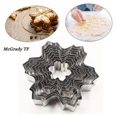 Acier Inoxydable Fondant Biscuit Pâtisserie Cookie Cutter gâteau Baking Mold outil Shan