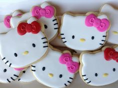 Hello Kitty, cookies, biscoitos decorados | by Cookie Design