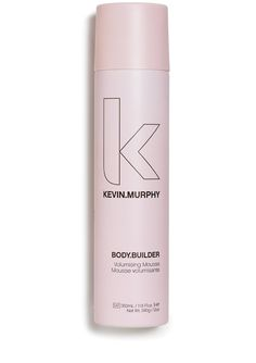BODY.BUILDER Work that body and boost your hair with flexible fullness and hold. A product that you can layer onto the hair to create smooth big shapes. Don't be afraid to use quite a lot as it is weightless and moisturising so you can go for it without any fear of a crunch. Weightless volumising spray mousse, Contains memory hold resins, Contains sunscreen and UV filters, Infused with Sunflower seed and vitamin B extracts, Contains Almond and Citrus Extracts for silky hold and shine