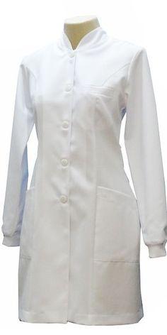 Renatta Aventais, Jalecos - Porto Alegre Blouse Nylon, White Lab Coat, Safety Clothing, Scrubs Outfit, Lab Coats, Medical Uniforms, Latest African Fashion Dresses, Lingerie Outfits, Nursing Dress