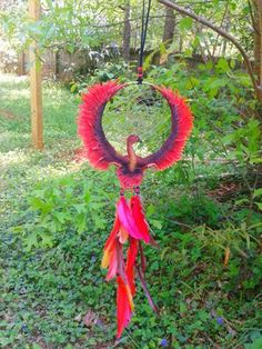 okay I'm not one for all that but this, Phoenix dreamcatcher is actually pretty cool