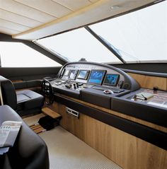 Internal view Ferretti Yachts - Ferretti 881 #yacht #luxury #ferretti