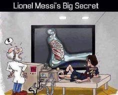 Odkryto sekret świetnej gry piłkarza FC Barcelony • Prześwietlenie wyjaśniło wszystko • Lionel Messi posiada mózg w stopie • Zobacz >>