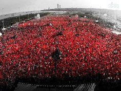 AK Parti'den Yenikapı'da dev miting
