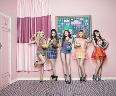 Name: Ladies' Code Debut: 2013 Members: Risae, Bitna, Eunbi, Sojung, Joomi