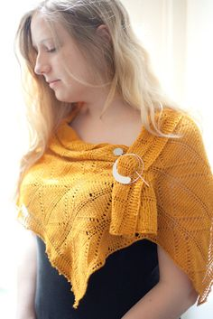De Danann  an innovative tunisianlace crochet shawl by flickeire, €6.00