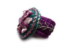 ••• Häkelring fleur ••• von crochet.jewels auf DaWanda.com