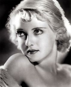 Bette Davis, early 30s