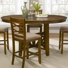Applewood Gathering Height Table by Liberty Furniture