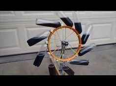 This is our second attempt at a perpetual motion - free energy machine. It is an overbalanced wheel known as a Bhaskara wheel. Renewable Energy, Solar Energy, Tesla Free Energy, Solaire Diy, Perpetual Motion, Power Generator, Water Wheel Generator, Energy Projects, Science Fair Projects